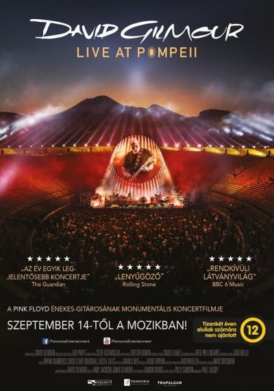David Gilmour Live at Pompeii – Plakát