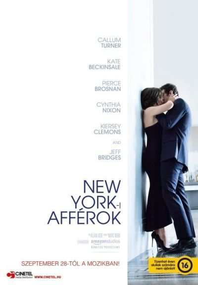 New York-i afférok – Plakát