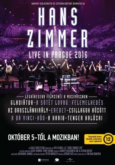 Hans Zimmer: Live in Prague – Plakát