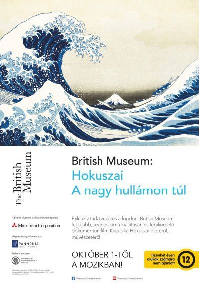 British Museum: Hokuszai - A nagy hullámon túl – Plakát