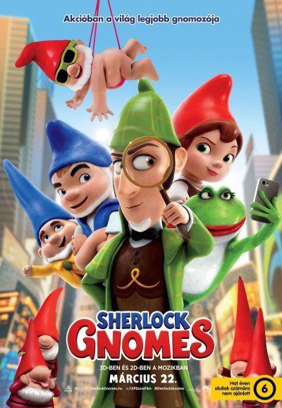 Sherlock Gnomes – Plakát