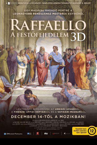 A művészet templomai: Raffaello - A festőfejedelem 3D – Plakát