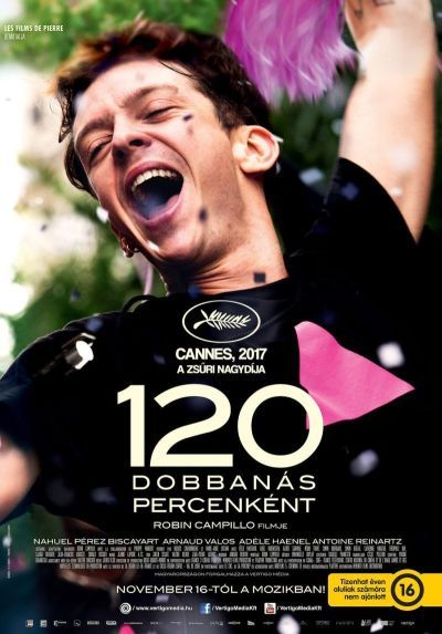 120 dobbanás percenként – Plakát
