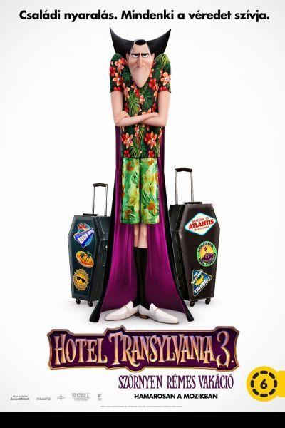 Hotel Transylvania 3. - Szörnyen rémes vakáció – Plakát