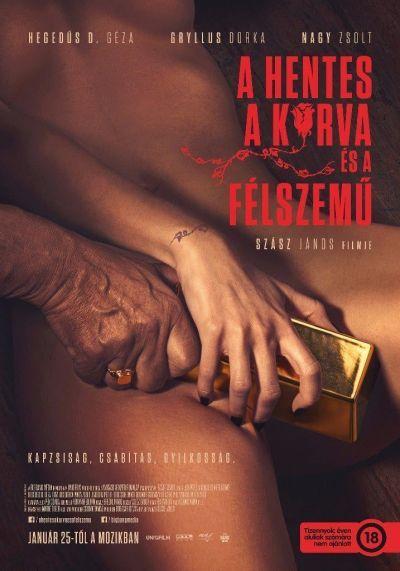 A hentes, a kurva és a félszemű – Plakát