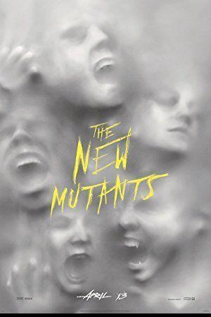 Új mutánsok – Plakát