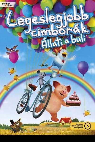 Legeslegjobb cimborák - Állati a buli – Plakát