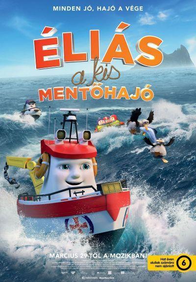 Éliás a kis mentőhajó – Plakát