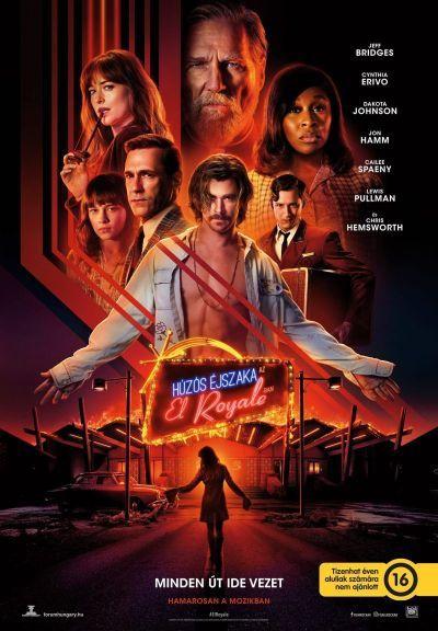 Húzós éjszaka az El Royale-ban – Plakát