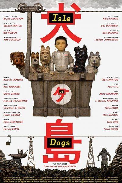 Kutyák szigete – Plakát