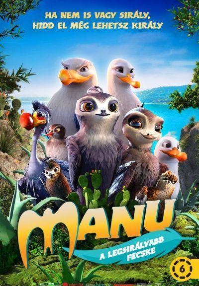 Manu a legsirályabb fecske – Plakát
