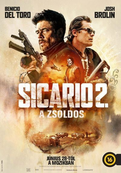 Sicario 2. - A zsoldos – Plakát