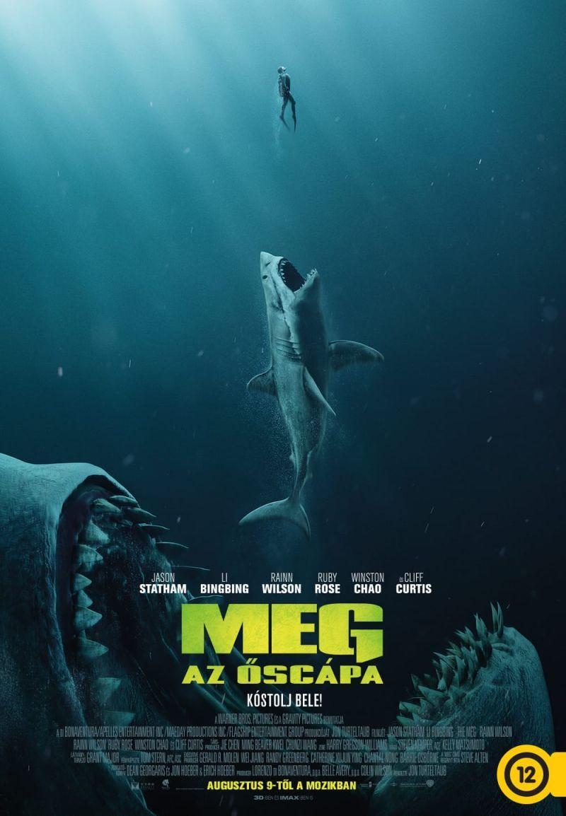 """""""Meg - Az őscápa"""" 2019 Teljes Film (IndAvIdeo) Magyarul HD letöltése - streamingmozihu.over-blog.com"""