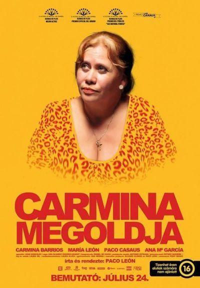 Carmina megoldja – Plakát