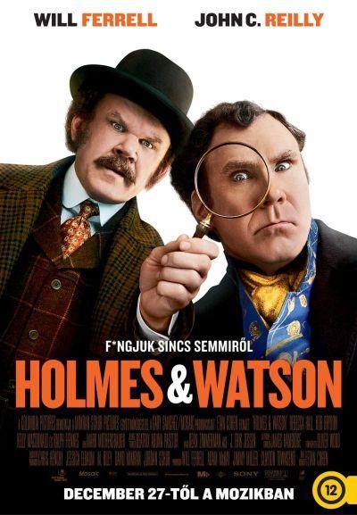 Holmes és Watson – Plakát