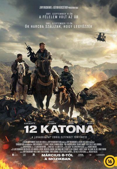 12 katona – Plakát