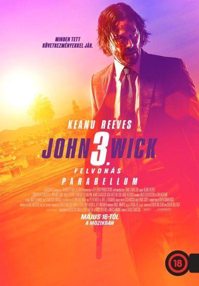 John Wick: 3. felvonás - Parabellum – Plakát