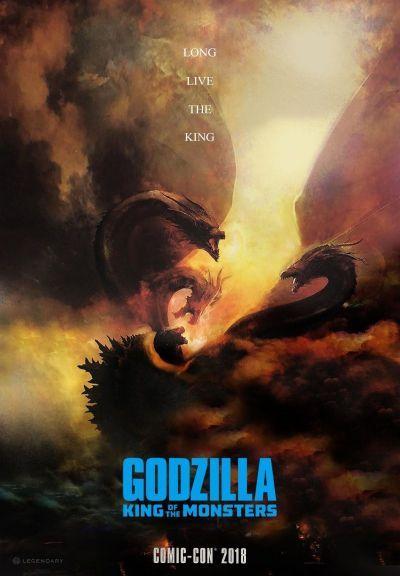 Godzilla 2. – A szörnyek királya – Plakát