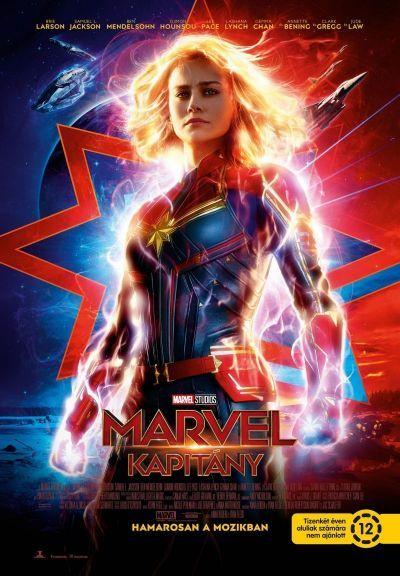 Marvel Kapitány – Plakát