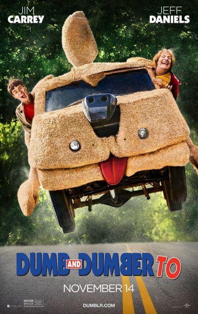 Dumb és Dumber kettyó – Plakát