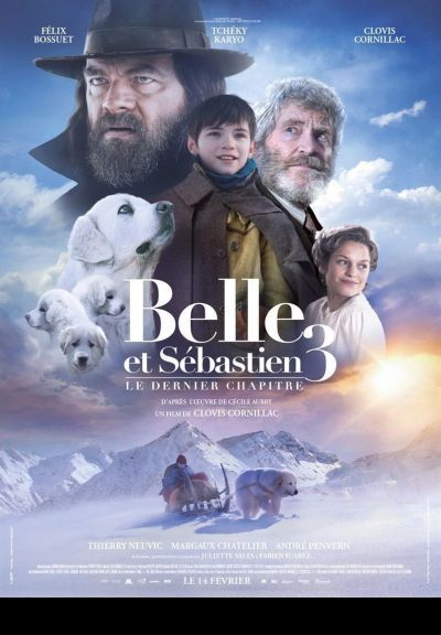 Belle és Sébastien 3 – Plakát
