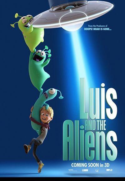Luis and the Aliens – Plakát