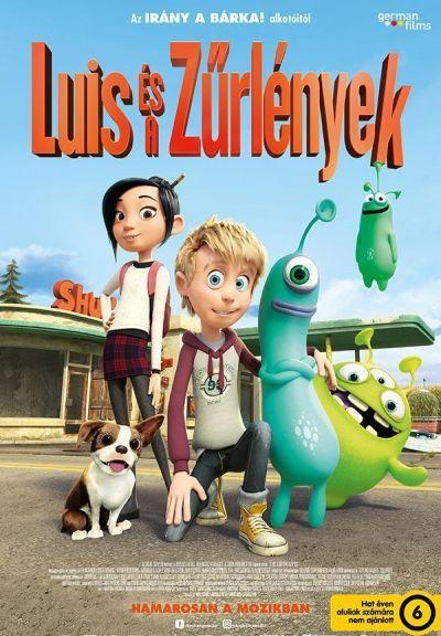 Luis és a Zűrlények – Plakát