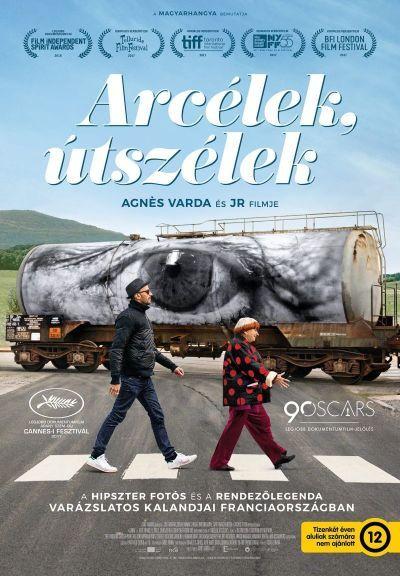 Arcélek, útszélek – Plakát