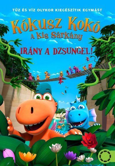 Kókusz Kokó, a kis sárkány - Irány a dzsungel! – Plakát