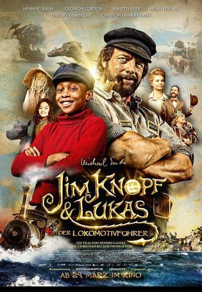 Gombos Jim és Lukács, a masiniszta – Plakát