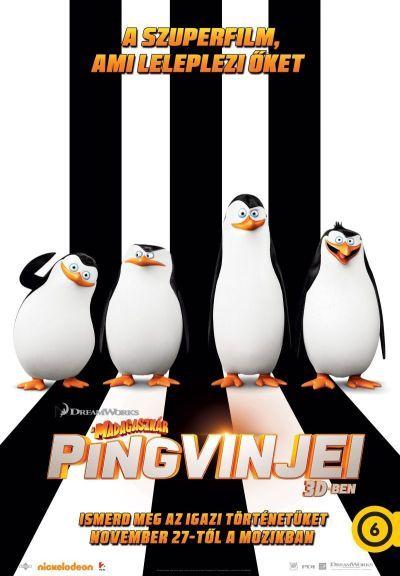 A Madagaszkár pingvinjei – Plakát
