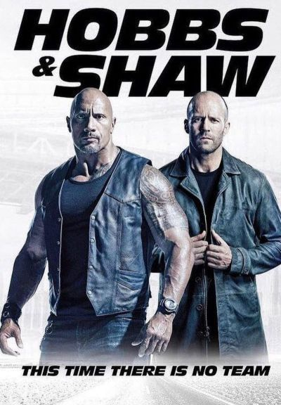 Hobbs és Shaw – Plakát