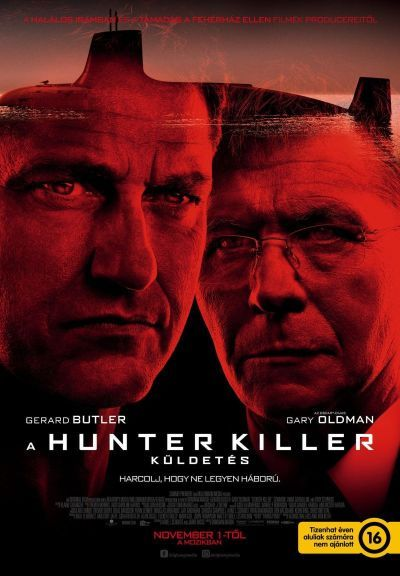 A Hunter Killer küldetés – Plakát