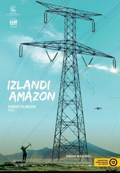 Izlandi amazon – Plakát