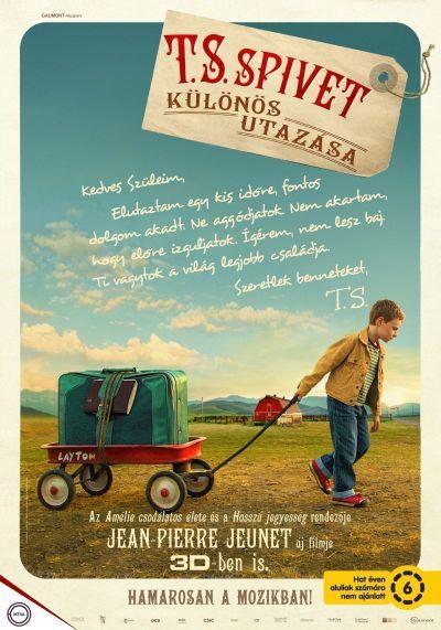 T.S. Spivet különös utazása – Plakát