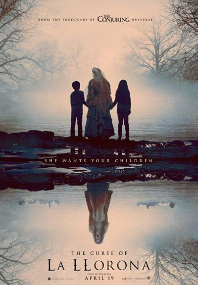 A gyászoló asszony átka – Plakát