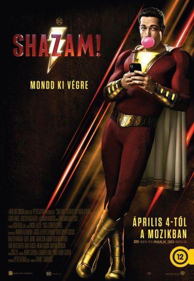 Shazam! – Plakát