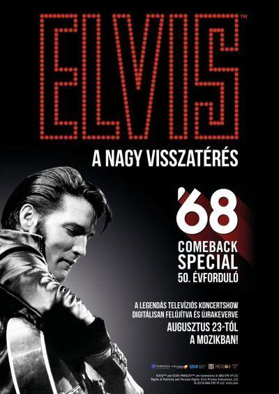 Elvis Presley 1968 - A nagy visszatérés – Plakát