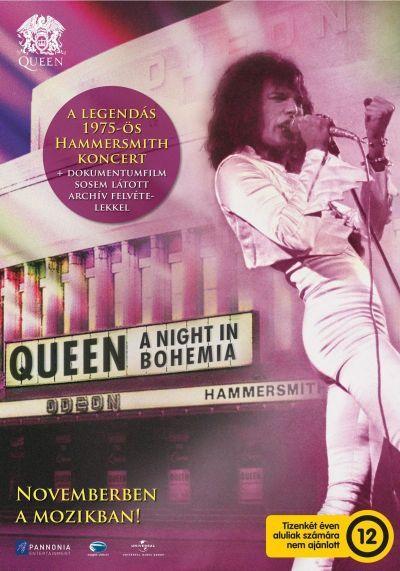 Queen: A Night In Bohemia – Plakát
