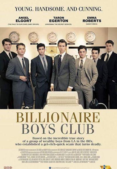 Billionaire Boys Club – Plakát