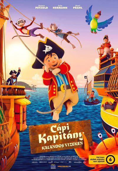 Cápi Kapitány - Kalandos vizeken – Plakát
