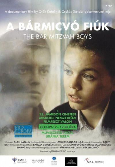 A Bármicvó fiúk – Plakát