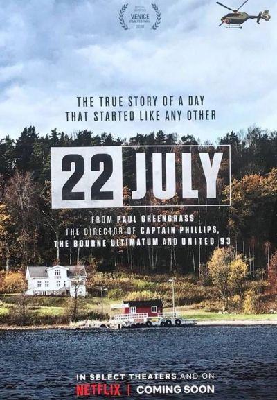 22 July – Plakát