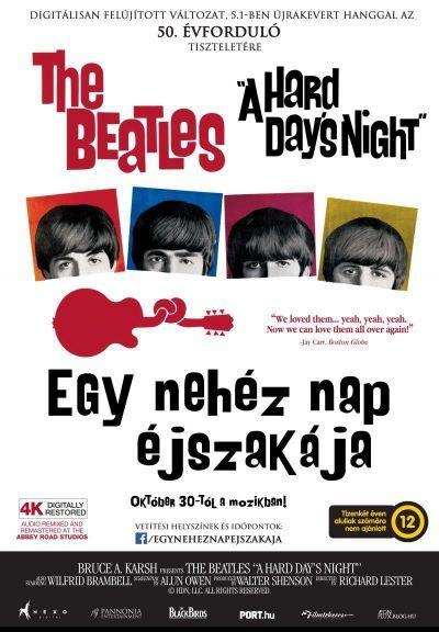 Egy nehéz nap éjszakája – Plakát