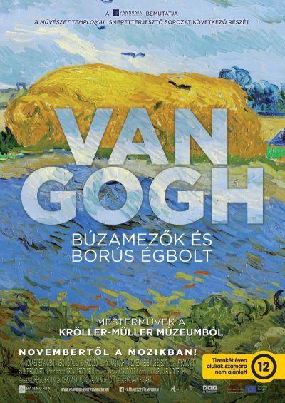 A művészet templomai: Van Gogh - Búzamezők és borús égbolt között – Plakát