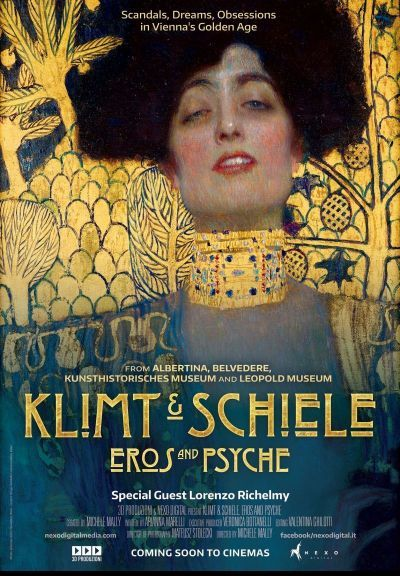 A művészet templomai: Klimt és Schiele - Eros és Pszyché – Plakát