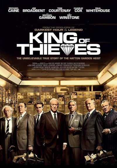 King of Thieves – Plakát