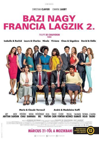 Bazi nagy francia lagzik 2. – Plakát