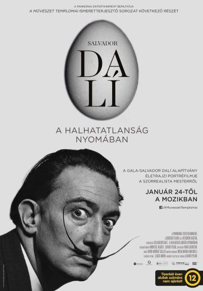 A művészet templomai: Salvador Dalí - A halhatatlanság nyomában – Plakát