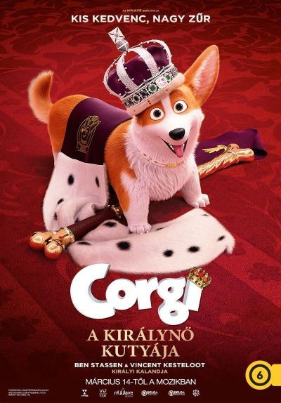 A királynő kutyája – Plakát